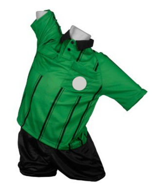 Referee Jersey Green